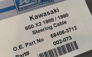 650X-2ステアリングワイヤー