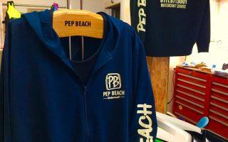 PEP BEACHパーカー
